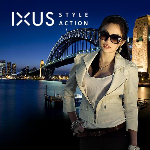 Canon IXUS Style Action