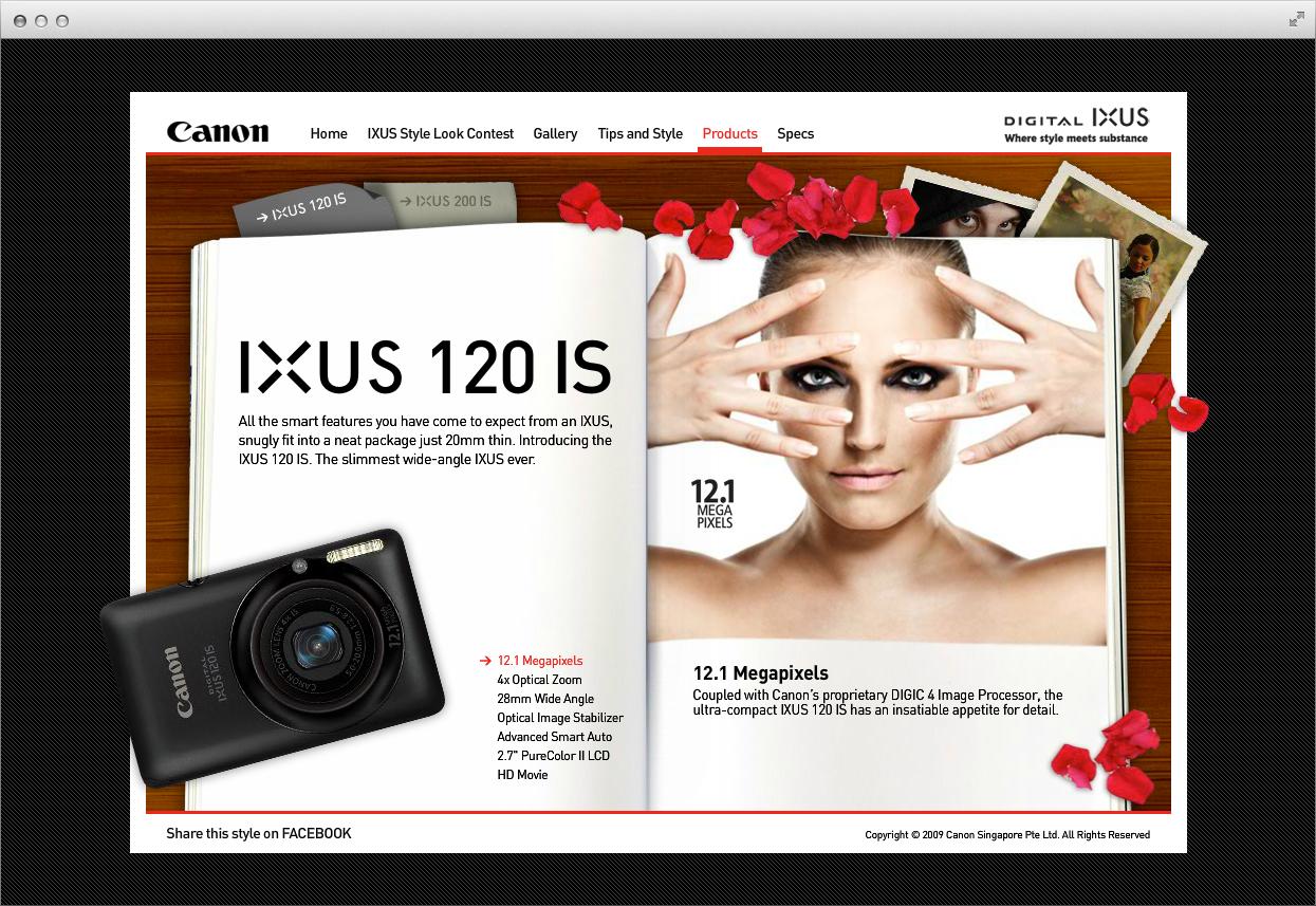 Canon IXUS Style Look