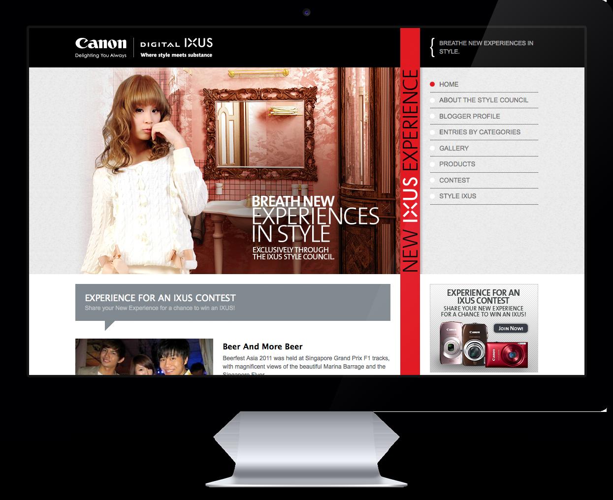 Canon New IXUS Experience
